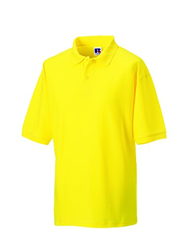 Jerzees - Polo - - Col polo - Manches courtes Homme - Jaune - Jaune - Xx-large