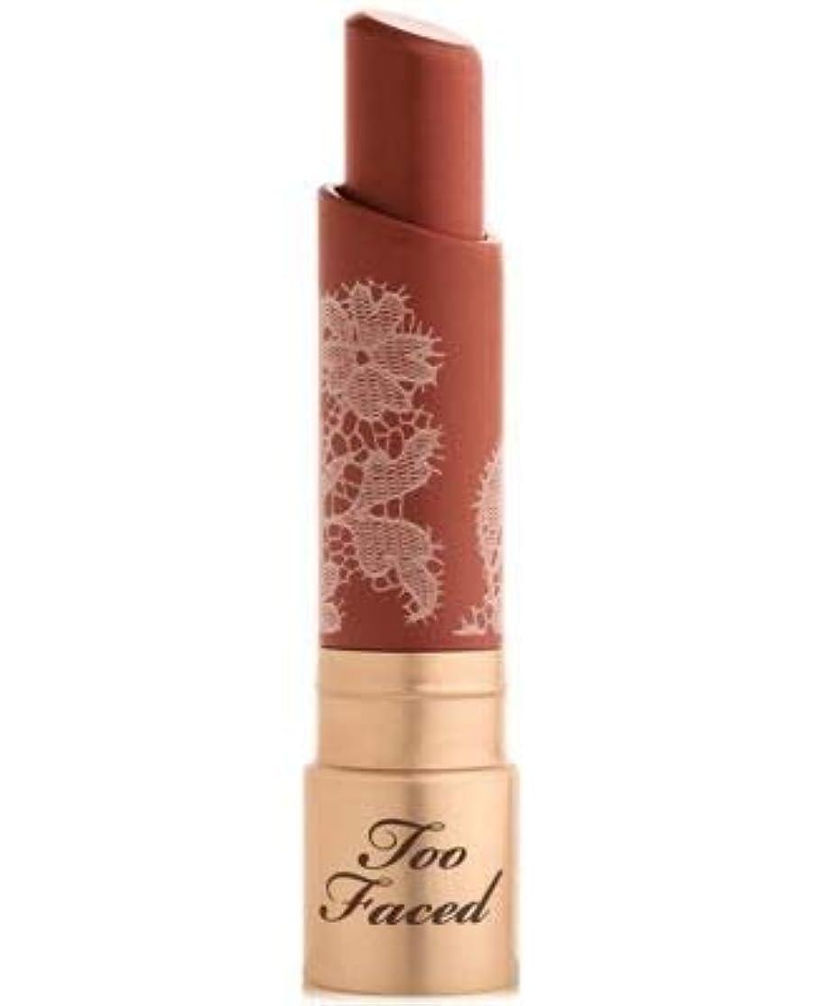 診療所カロリーテセウスToo Faced Natural Nudes Intense Color Coconut Butter Lipstick Pout About It