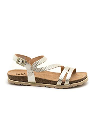 Yokono dames sandalen chipre platina