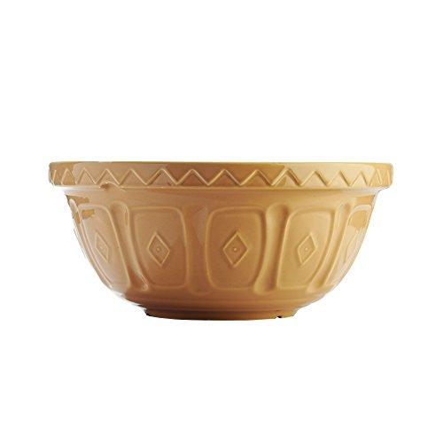 Rayware Saladier Mason Cash Cane, Porcelaine, Beige, 2.7 Litre/26 cm