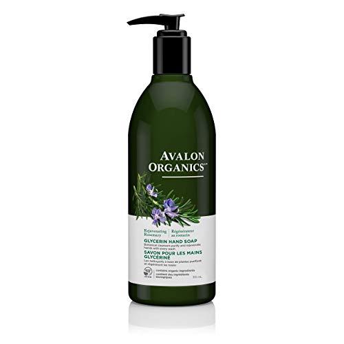 Avalon Organics Glycerin Hand Soap, Rejuvenating Rosemary, 12 Oz