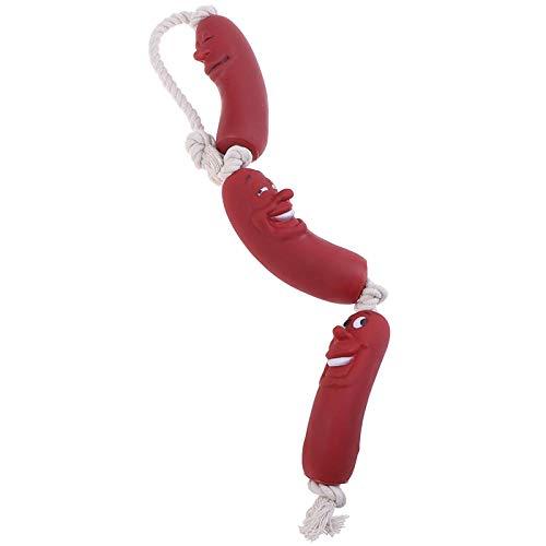 RKGD Lustige Haustier Hundespielzeug Wurst Quietschspielzeug für Haustiere Gesundes Latex Hundespielzeug für Hund Großhandel Haustier Spielzeug Haustierbedarf-groß