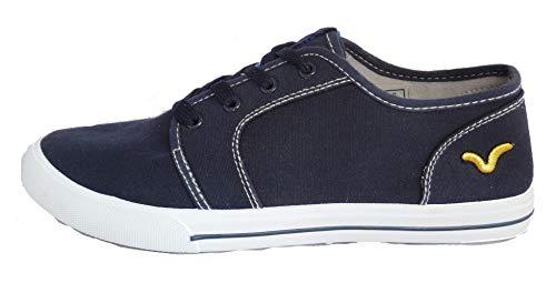 Herren VOI Jeans Bronson Canvas Pumps, Marineblau, Blau - navy - Größe: 42 2/3 EU