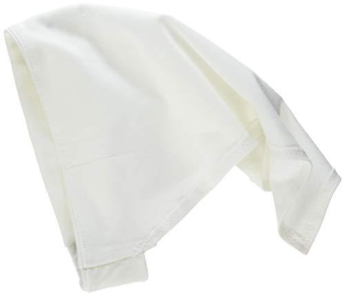Sterntaler Baby-Mädchen Kopftuch 1451400 Mütze, Weiß (Weiss 500), 43