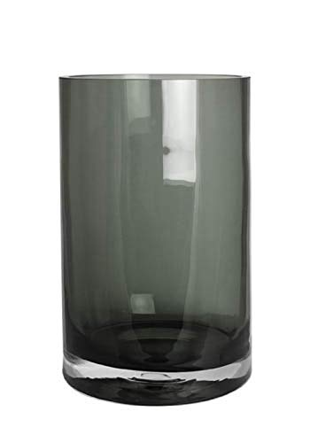 Kaheku Vase Windlicht Zylinder Trevor Smoke, Ø 20 cm, H= 30 cm 1132006575
