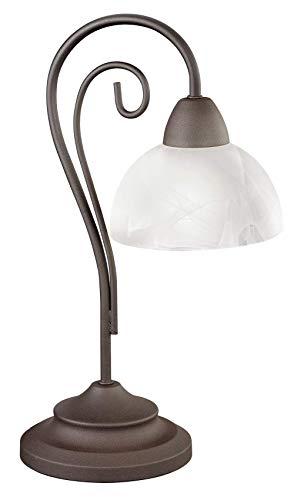 Trio R5031 Country - Lámpara de Mesa, Estilo Envejecido, 40cm