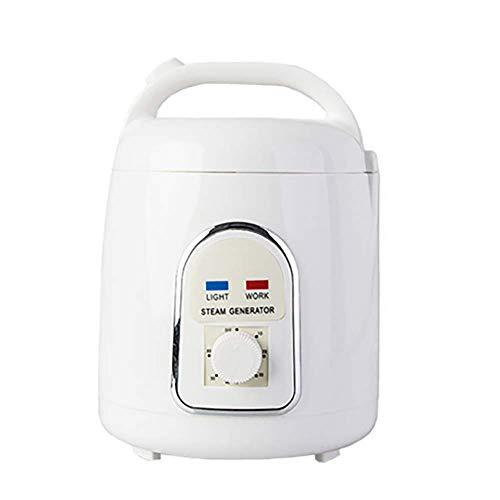 DEDC Generador de Vapor para Sauna de Vapor Portátil Svedana, 1,5 Litros 850 W, para Saunas de Vapor Portátiles