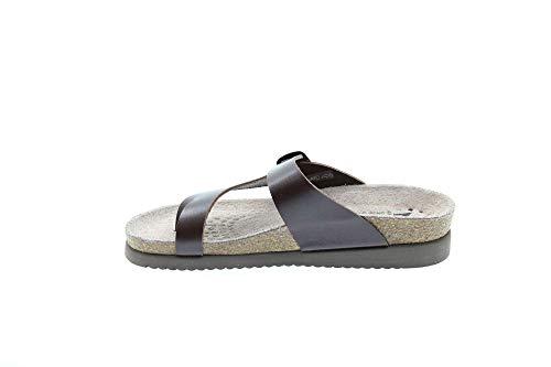 Mephisto Womens Helen Chestnut Leather Sandals 39 EU