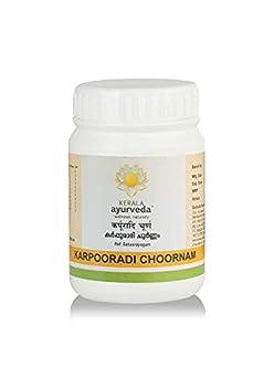 Kerala Ayurveda Karpooradi Choornam 50 gm - by The MG Shop  Pack of 2