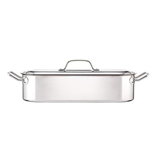 Kitchen Craft Clearview Pentolino per pesce in acciaio INOX 46 cm