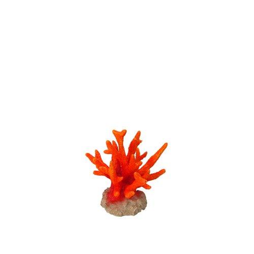 Aqua Della della Decorazione Acquario Corallo seriat opora, Arancione