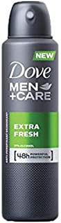 Dove Men+Care Antiperspirant Deodorant Extra Fresh, 150ml