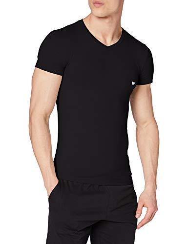 Emporio Armani 110810CC729 Haut de Pyjama, Noir (Nero 00020), S Homme