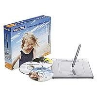 Wacom Graphire4 Studio Grafiktablett A6 USB mit Bildbearbeitungssoftware