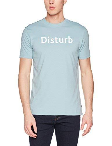 Springfield 243086 Camiseta, Verde (Gama Verdes), Small (Tamaño del Fabricante:S) para Hombre