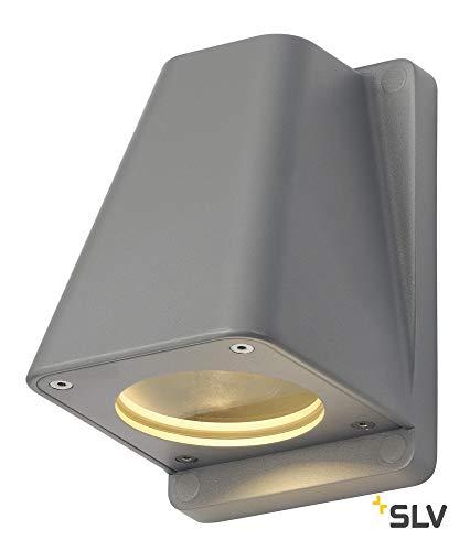 SLV Wallyx GU10 wandlamp, maximaal 50 W, IP44, [energieklasse D]