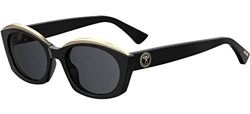 Moschino Sonnenbrillen MOS032/S Black/Dark Grey Damenbrillen