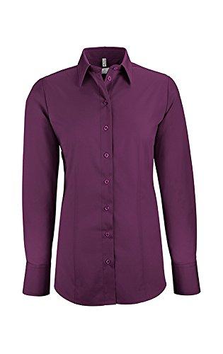 GREIFF Damen-Bluse Basic, Regular Fit,...