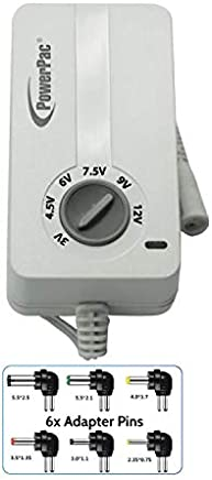 PowerPac SU916 Multiple AC/DC Adaptor 1500MA
