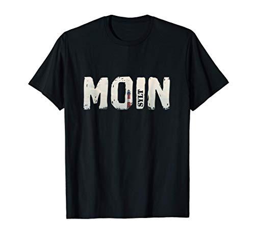 Sylt Shirt mit Moin und Leuchtturm für Männer und Frauen T-Shirt