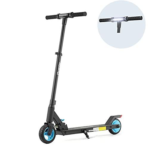 CHNG ik5 Scooters eléctricos para Adolescentes, con Certificado CE, Ligero, Plegable, E-Scooter, Fuerte Regalo Seguro para niños, Adolescentes, Adecuado para una Altura de 4.26-6.23ft