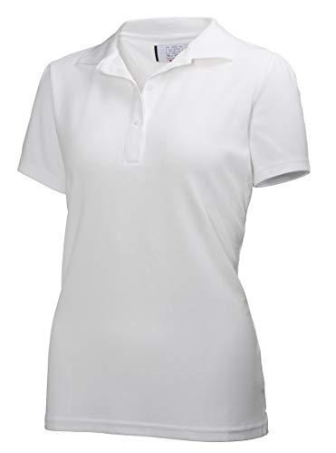 Helly Hansen Crew Tech Camisa Polo, Unisex Adulto, White, L