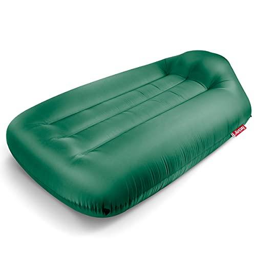 Fatboy® Lamzac L 3.0 Jungle Green   Aufblasbares Sofa/Liege, Sitzsack mit Luft gefüllt   Outdoor geeignet   190 x 105 x 45 cm