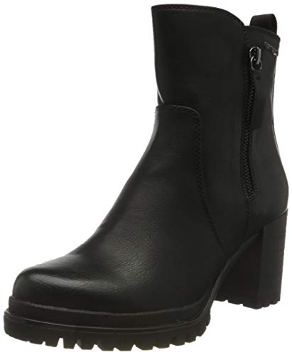 Tom Tailor Womens 9091801 Ankle Boot Classic Boot, Black, 7 UK