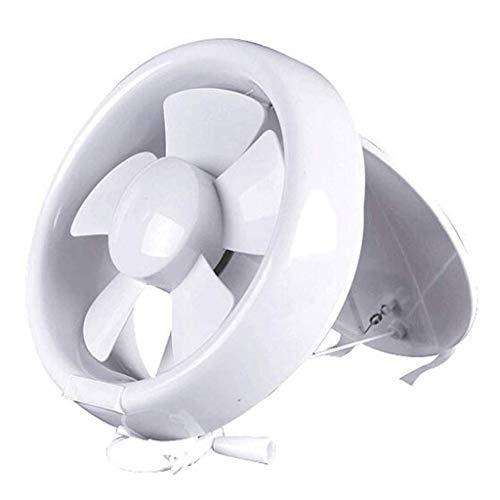 WYBFZTT-188 Extractor de Aire - hogar Ventilador de ventilación de Escape baño WC Ventilador Extractor de Aire Agujero Redondo de Vidrio de 6 Pulgadas