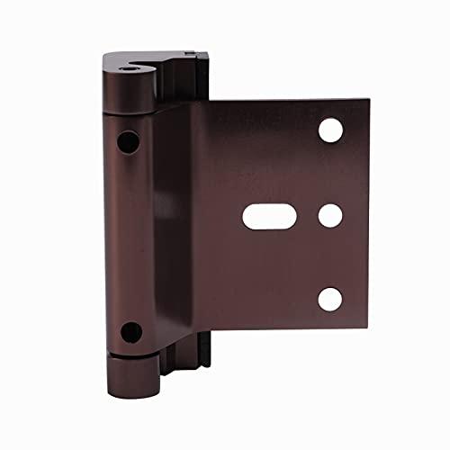 Herramienta de bloqueo de refuerzo de puerta de seguridad de aleación de aluminio con tornillos (C)