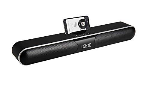 Blaupunkt blp9820Barra del suono per TV Wireless fotocamera, FM, AUX 3.5mm, USB, 50cm