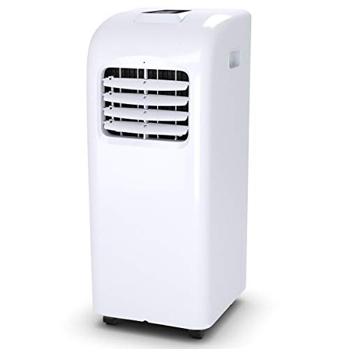 Nightcore Portable Air Conditioner, 10000BTU, Freestanding AC Unit with Remote Control and LED Display, Multifunctional AC with 24H Timer, Temperature Adjustable, for Home, Office, Coffee, White