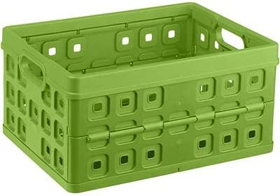 We OFFer at cheap prices Sunware Square Folding Ranking TOP14 Box Nature-Green 32 Litre