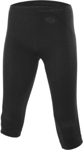 BRUBECK 3/4-Funktionshose Damen,Inspiration\' Sport- Laufhose Pants figurbetont, Größe:L