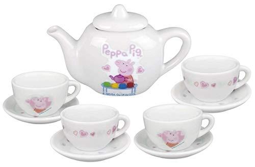 Peppa Pig Ensemble à thé en Porcelaine, 1372462.EX, Blanc