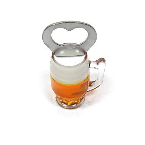 Bierglas Flaschenöffner mit Magnet - Bieröffner