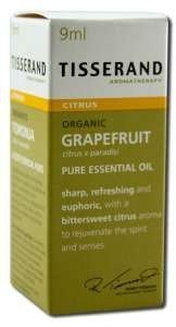Grapefruit Organische etherische olie Tisserand 0,32 oz (9ml) EssOil door Tisserand