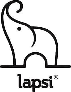 LAPSI® Spielzeugkiste, Aufbewahrungsbox mit 6 Rollen mit Deckel auf Rädern Weiß Hase - 6