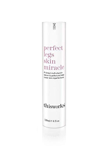 thisworks perfect legs skin miracle: Tinted Multi-Vitamin Serum to Perfect and Help Cover Skin Imperfections, 120ml | 4 fl oz