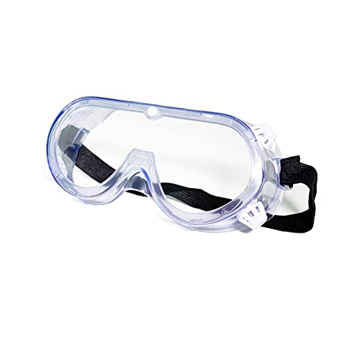 QCLU Gafas de seguridad Gafas de polen Gafas de gafas, fiebre de heno Gafas para hombres Mujeres, anti-polen anti-niebla. Lente a prueba de viento a prueba de polvo para el laboratorio de construcción