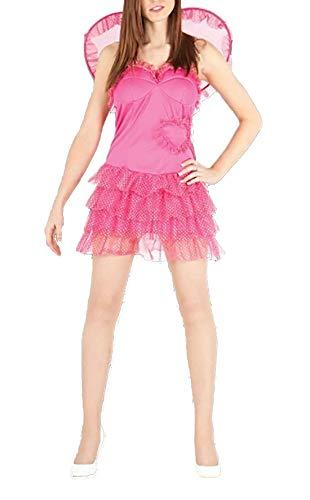 FashioN HuB Disfraz de Cupido para mujer, para da de San Valentn, talla nica