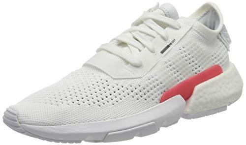 adidas Pod-s3.1 PK, Zapatillas de Gimnasia Hombre, Blanco (FTWR White/FTWR White/Core Black FTWR White/FTWR White/Core Black), 42 EU