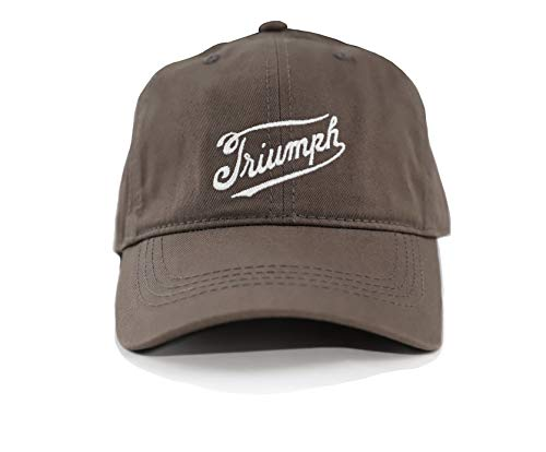 Lucky Brand Men's Triumph Motorcycle Baseball Cap (Olive Brown)