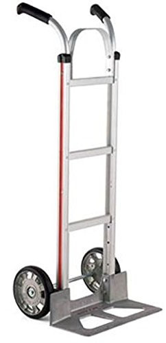 Magliner HMK116UA1 Aluminum Hand Truck, Double Grip Handle with Brace, 18