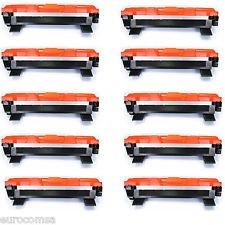 10 Toner Compatibili per Brother TN1050, DCP-1510, DCP-1512, DCP-1610W, HL-1110, HL-1112, HL-1210W, MFC-1810, MFC-1910W | 1.000 Pagine | Nero
