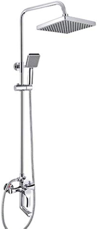 LHW Shower Set chset, Bad, europisches, Duschset, DREI Akten, Hand, Top Düse, Hand Düse, Wand montiert