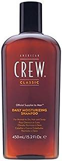 アメリカの乗組員の毎日の保湿シャンプー(450ミリリットル) x4 - American Crew Daily Moisturising Shampoo (450ml) (Pack of 4) [並行輸入品]