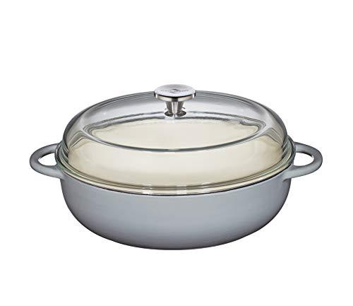 Küchenprofi 402551925 Bauernpfanne-Kp402551928 Pfannen, 18/8 Edelstahl, grau