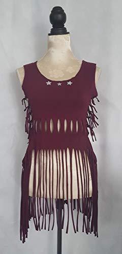 Kleid T-Shirt Top Sommershirt Damenshirt Bordorot Strandkleid