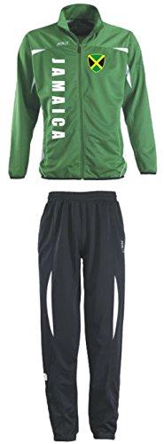 Jamaika Trainingsanzug - Sportanzug - S-XXL - Fußball Fitness (XXL)